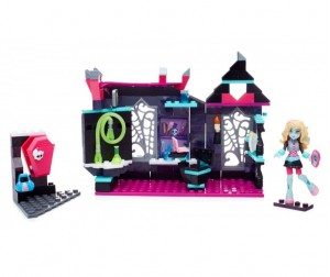 Конструктор Mega Bloks Mattel Monster High Класс биологии (194 детали)