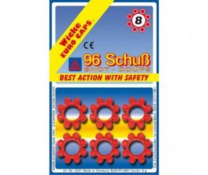 Купить Sohni-wicke Игрушечные 8-зарядные пистоны 96 шт.