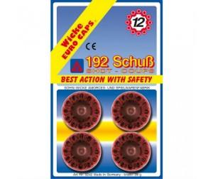 Купить Sohni-wicke Игрушечные 12-зарядные пистоны 192 шт.