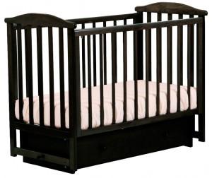 магазин кроватки Детская кроватка Кубаньлесстрой АБ 15.2 Лютик маятник поперечный с ящиком