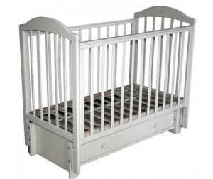 Детская кроватка Кубаньлесстрой БИ 41.3 Кубаночка-5 маятник продольный