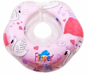 Купить Круг для купания ROXY Flipper 0+ на шею музыкальный