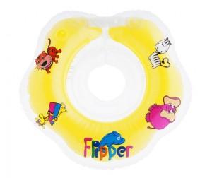 Купить Круг для купания ROXY Flipper на шею новорожденных