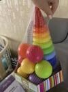 35123 Росигрушка Набор Радуга Макси пирамида+мячики (21 деталь) от пользователя Ксения