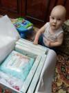 17654 Pampers Подгузники-трусики Premium Care Pants р.4 (9-15 кг) 38 шт. от пользователя Юлия