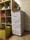 20129 Dunya Комод 4 ящика с рисунком от пользователя Екатерина