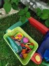 29249 Пластишка Ящик для игрушек  на колесах 580х390х335 мм с аппликацией от пользователя Эльвира