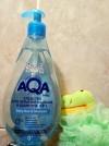 19235 AQA baby Средство для купания малыша и шампунь 2 в 1 400 мл от пользователя Мария Казина