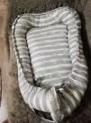 42458 AmaroBaby Подушка-Позиционер для сна кокон-гнездышко Little Baby Радуга от пользователя Наталья