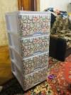 8078 Dunya Комод 4 ящика с рисунком от пользователя Ирина