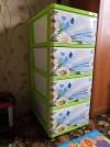 18293 Dunya Комод 4 ящика с рисунком от пользователя Ирина