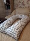 6923 Forest kids Подушка для беременных Perla с наволочкой 340 см от пользователя Инна