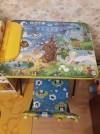 4286 Ника Комплект Познайка (стол+стул клеенка) от пользователя Анна