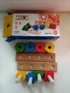 38423 Мир деревянных игрушек Набор для развития моторики (11 деталей) от пользователя Юлия