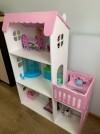 50879 Столики Детям Кукольный домик трехэтажный с балконом от пользователя Мария