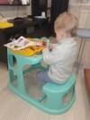 52502 Tom&Jerry Стол-парта детская с аппликацией 550х730х500 мм от пользователя Мария