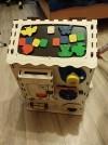 3707 Iwoodplay Развивающий домик большой с электрикой (блоком светоиндикации) от пользователя Елена