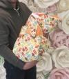 28166 LovelyCare Конверт-одеяло на выписку Совы весна/осень + бант от пользователя Валерия