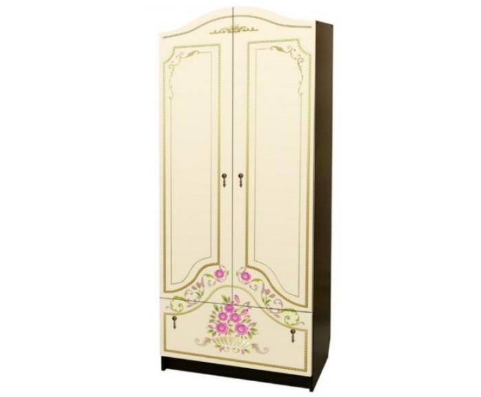 Шкафы Влана Розы шкаф с полками дсп и зеркальной дверью орион