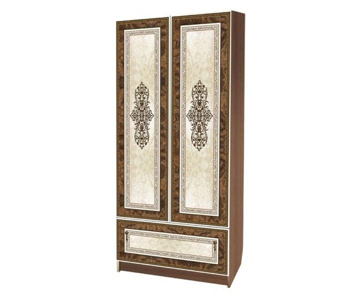 Шкафы Влана Франческо-2 шкаф с полками дсп и зеркальной дверью орион