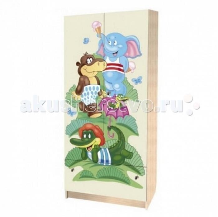 Детская мебель , Шкафы Влана Зоопарк (ДСП) арт: 8619 -  Шкафы