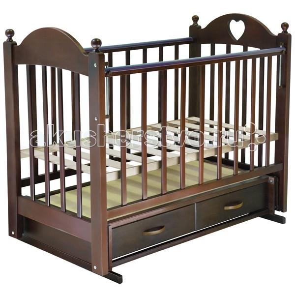 Детская кроватка Ведрусс Марьяна №3 (поперечный маятник)