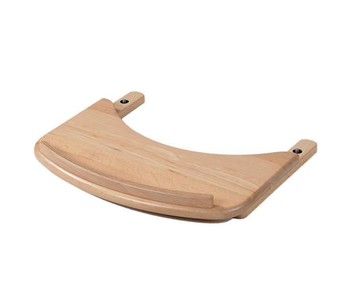 Geuther Столик для стульчика SwingСтолик для стульчика SwingСтолик для стульчика Geuther Swing для кормления  и игр.Характеристики:Габариты: 43.5 x 35.5 x 6 см  Вес: 1.5 кг  Цвет: натуральный  Материал: бук<br>