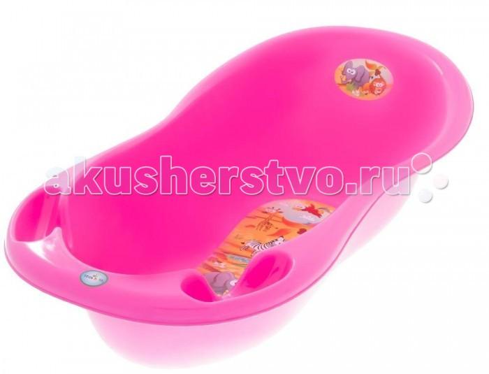Детские ванночки Tega Baby Ванночка для купания Сафари 102 см