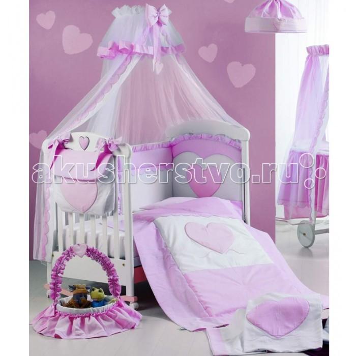 Комплекты в кроватку Roman Baby Cuore di Mamma (5 предметов) roman baby панно на стену roman baby cuore di mamma арт 6008