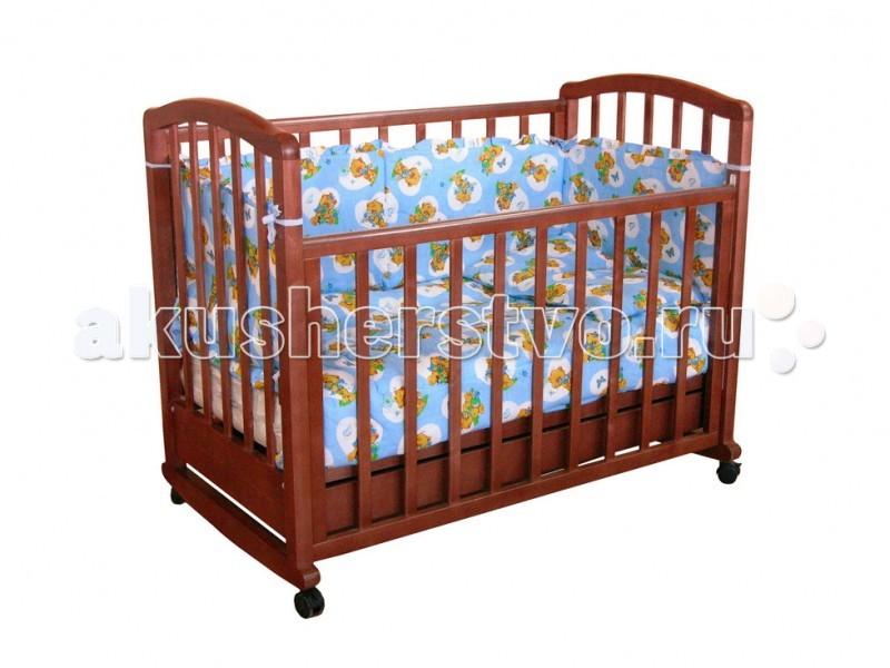 Детская кроватка Фея 603 с ящиком