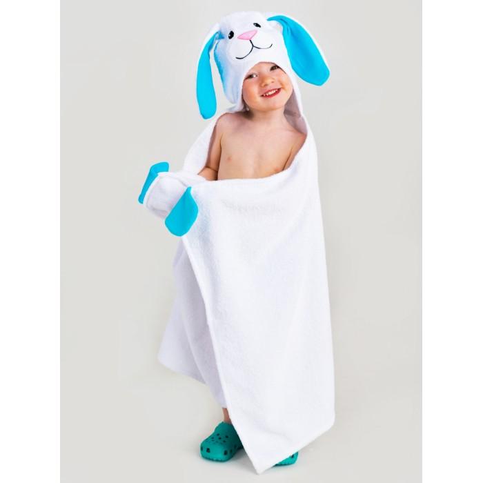 Купить Полотенца, BabyBunny Полотенце с капюшоном Зайчик