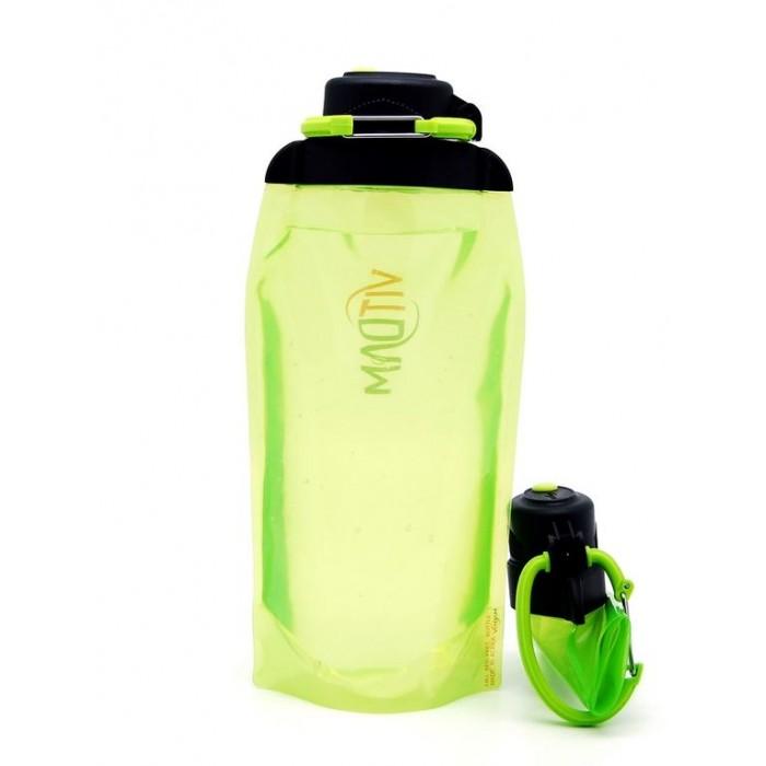 Поильники Vitdam Складная эко бутылка с карабином 860 мл эко бутылка eau good с фильтром оливковая