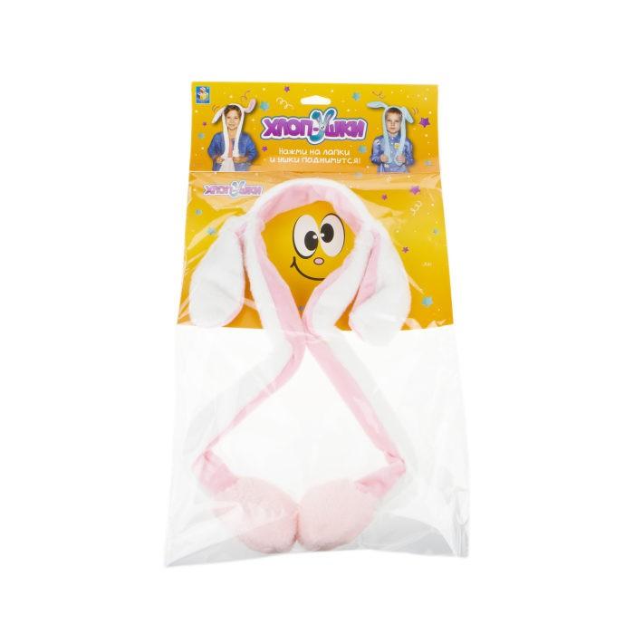 1 Toy Хлоп-Ушки Ободок с поднимающимися ушками Единорог фото