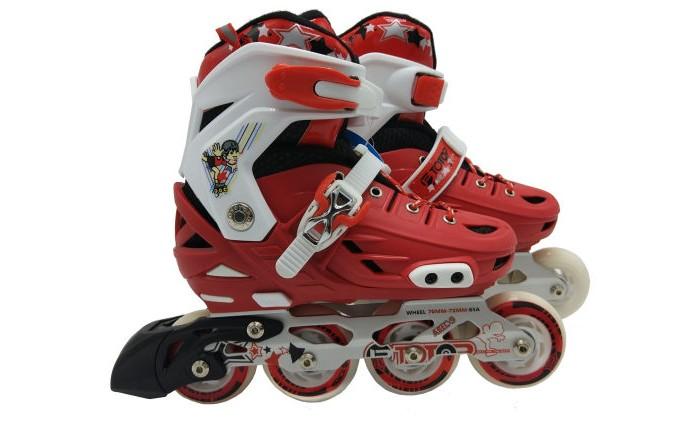 Детские ролики 1 Toy колеса PU со светом Т1497