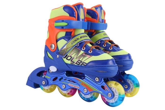 Детские ролики 1 Toy колеса PU со светом Т14955