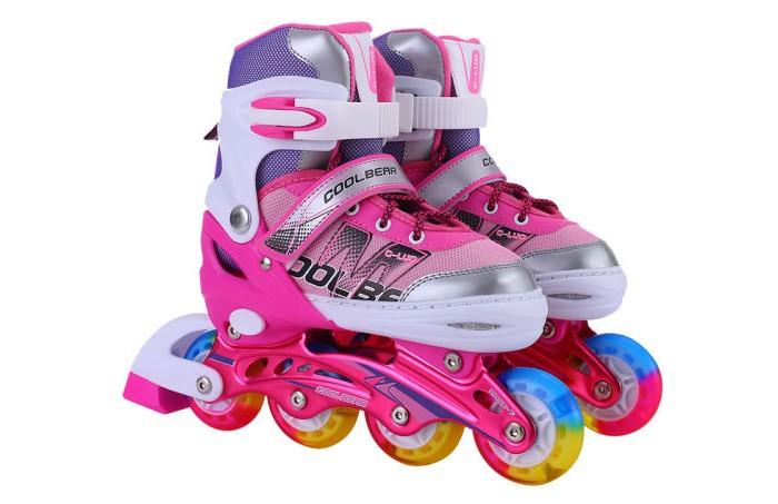 Детские ролики 1 Toy переднее светящиеся колесо