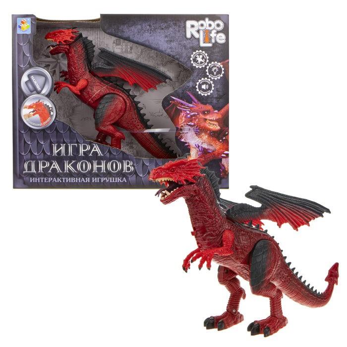 интерактивные игрушки Интерактивные игрушки 1 Toy Robo Life Дракон