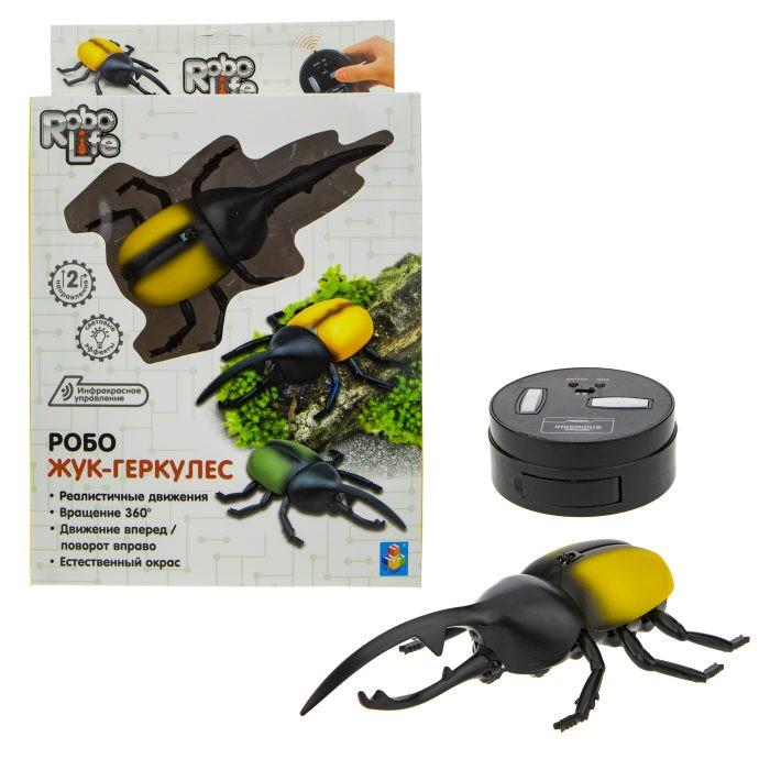 Купить Радиоуправляемые игрушки, 1 Toy Robo Life Игрушка функциональная Робо Жук-Геркулес