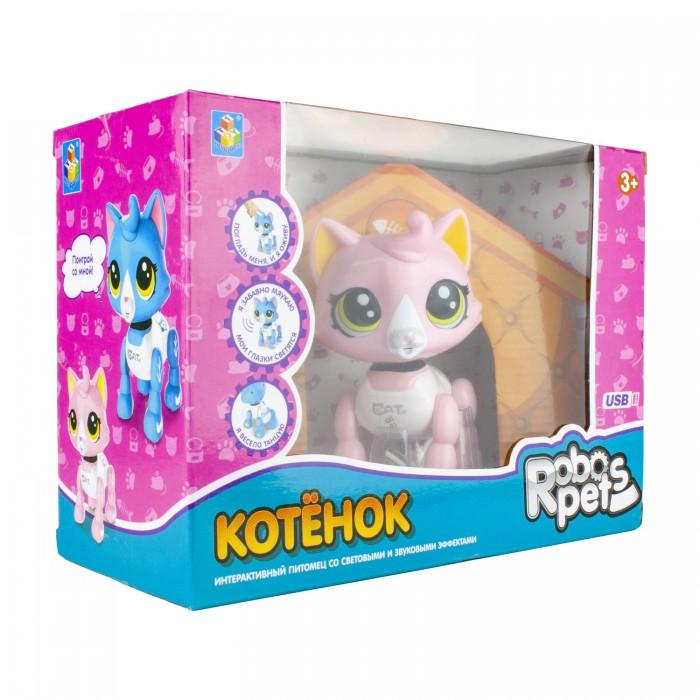 Интерактивная игрушка 1 Toy Robo Pets Робо-котенок
