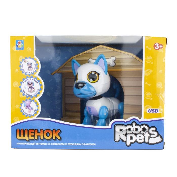 Интерактивная игрушка 1 Toy Robo Pets Робо-щенок Т16800