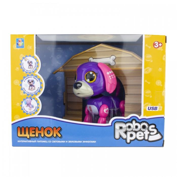 Интерактивная игрушка 1 Toy Робо-щенок