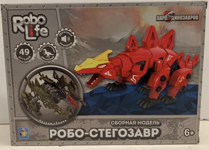1 Toy RoboLife Сборная модель Робо-велоцираптор (46 деталей)