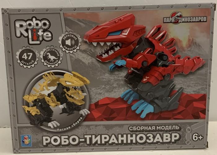 1 Toy RoboLife Сборная модель Робо-тираннозавр (47 деталей)