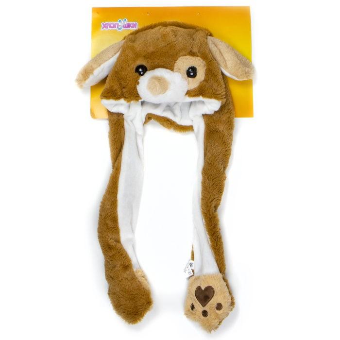 Карнавальные костюмы 1 Toy Шапка детская Хлоп-Ушки Собака