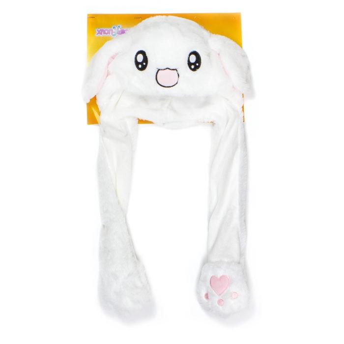 Карнавальные костюмы 1 Toy Шапка детская Хлоп-Ушки Зайчик