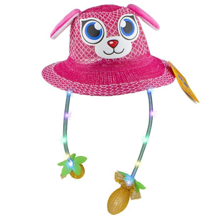 Карнавальные костюмы 1 Toy Шляпка летняя с глазками Хлоп-Ушки