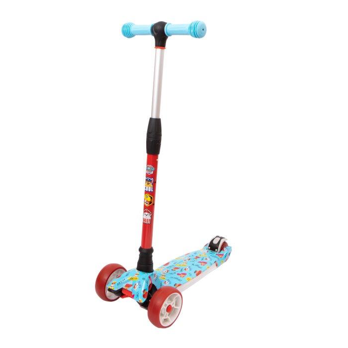 Купить Трехколесные самокаты, Трехколесный самокат 1 Toy со светящимися колёсами Щенячий патруль