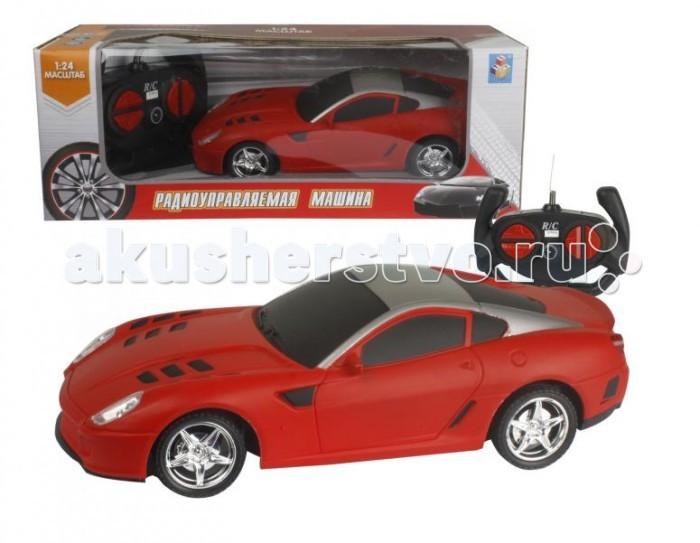Купить Радиоуправляемые игрушки, 1 Toy Спортавто машинка на радиоуправлении 20 см