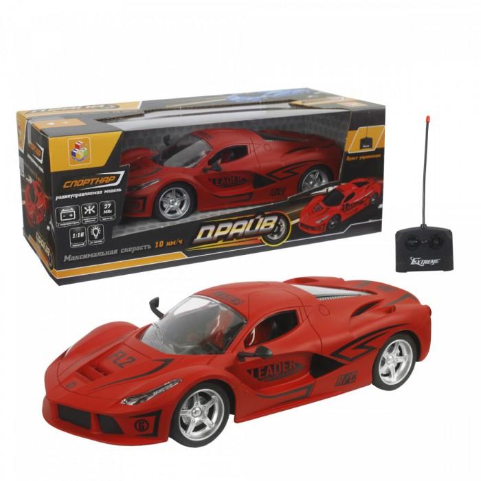 Купить Радиоуправляемые игрушки, 1 Toy Спортавто машина на радиоуправлении матовый
