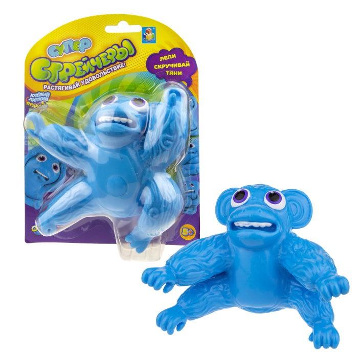 Развивающие игрушки 1 Toy Супер Стрейчеры Облизьяна 11 см
